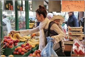 pune lilas DH au marché fruits